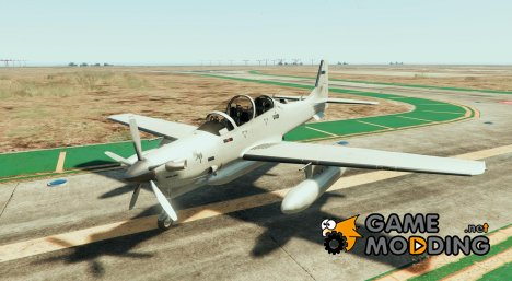 Embraer A-29B Super Tucano for GTA 5