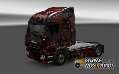 Скин Dragons для Iveco Stralis for Euro Truck Simulator 2