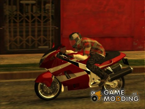 GTA 5 Moto Driving Animation for GTA San Andreas