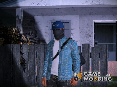 Marcus Holloway - Watch Dogs (GTA Online Cosplay) для GTA San Andreas