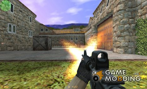 Twinke's M4 On eXe.'s Anims для Counter-Strike 1.6