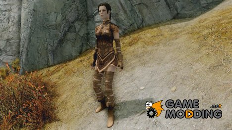 Light Elven Armor - UNP for TES V Skyrim