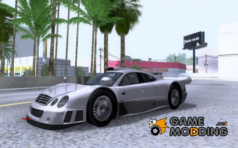 Mercedes-Benz CLK GTR Ultimate Edition 2010 v1 для GTA San Andreas