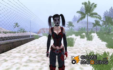 Harley Quinn AC HQR for GTA San Andreas