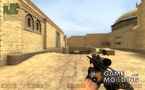 Scout Relacement skin для Counter-Strike Source