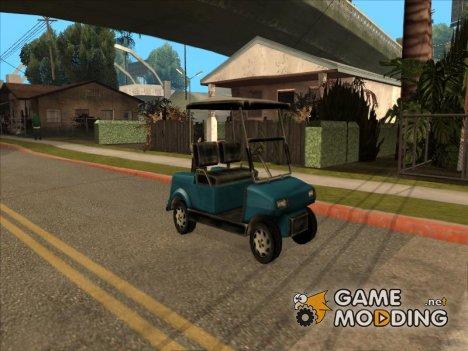 Caddy from Vice City для GTA San Andreas