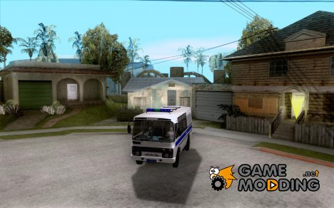 ПАЗ 3205 Милиция for GTA San Andreas