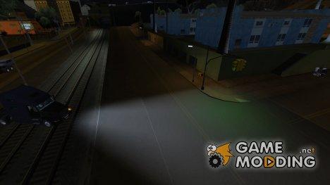 Дальний и ближний свет фар для GTA San Andreas