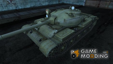 Шкурка для Т-62А for World of Tanks