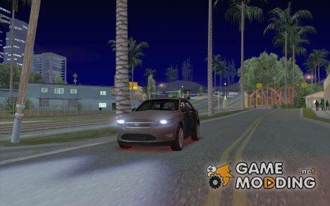 Красная неоновая подсветка for GTA San Andreas