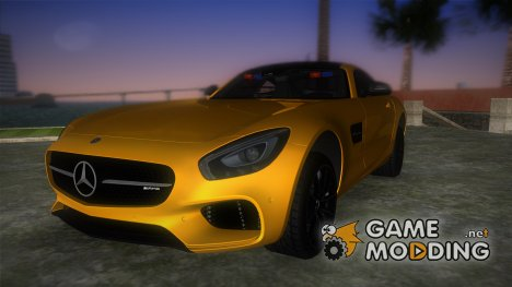 Mercedes-Benz AMG GT FBI for GTA Vice City