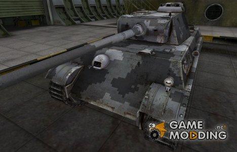 Камуфлированный скин для PzKpfw V Panther для World of Tanks