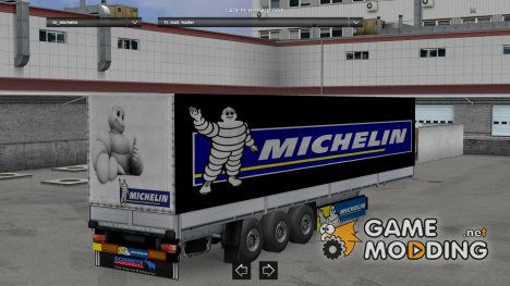Michelin Trailer for Euro Truck Simulator 2