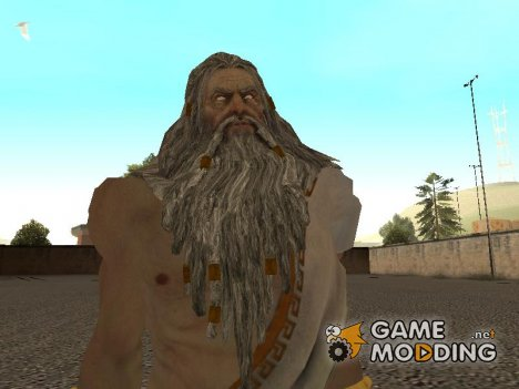 Zeus with short tunica from god of war 3 for GTA San Andreas