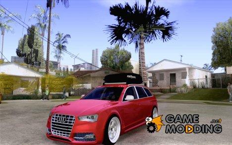 Audi A6 Avant Stanced for GTA San Andreas