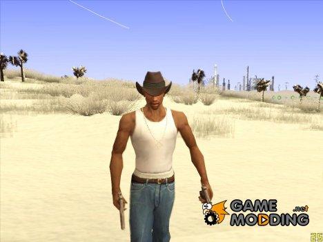Ковбойская шляпа из GTA Online v2 для GTA San Andreas
