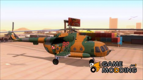 Mil Mi-8 Polish Air Force for GTA San Andreas