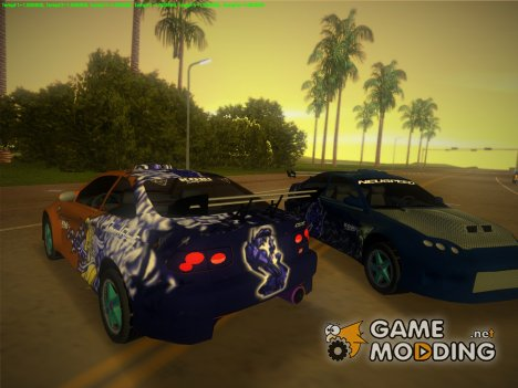 Honda CIVIC для GTA Vice City