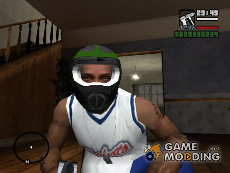"Шлем ""Monster Energy"" for GTA San Andreas"