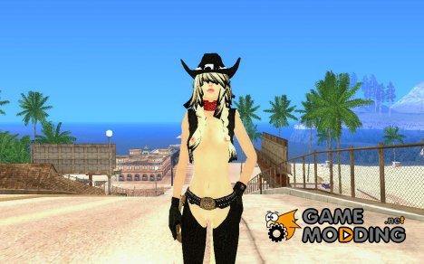 Новый скин девушки для GTA San Andreas