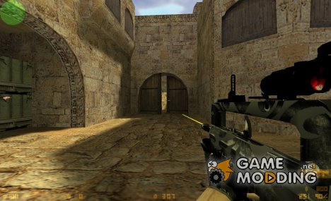 TACTICAL FAMAS ON VALVE'S ANIMATION для Counter-Strike 1.6