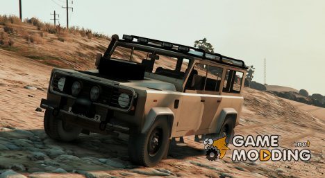 Land Rover Defender 110 (with Extras) для GTA 5