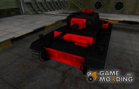 Черно-красные зоны пробития VK 30.01 (H) для World of Tanks