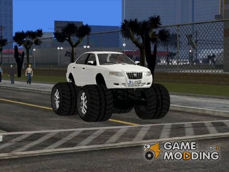 Samand Soren Monster для GTA San Andreas