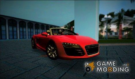 2014 Audi R8 V10 Spyder for GTA Vice City