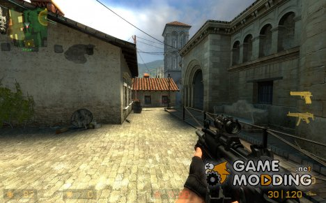 CSS Default MP5 Anims M203 for Counter-Strike Source