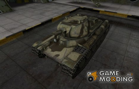 Пустынный скин для КВ-13 for World of Tanks