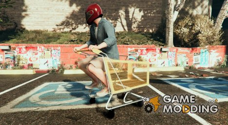 Shopping Cart - Trolley - Fun Vehicle  для GTA 5