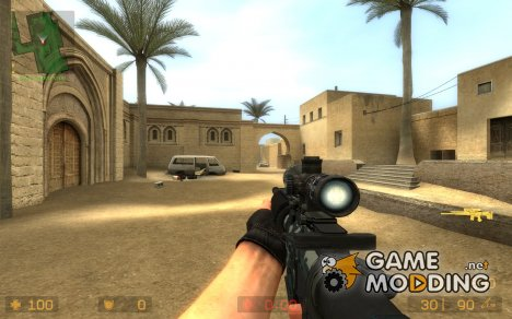 Hybrid M4A1 v2.0 for Counter-Strike Source