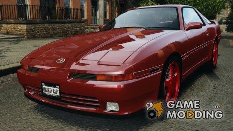Toyota Supra 3.0 Turbo MK3 1992 v1.0 [EPM] for GTA 4