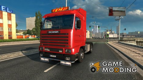 Scania 143M v 3.4 for Euro Truck Simulator 2