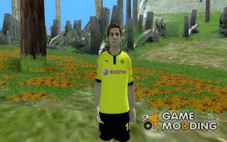 Mario Gotze [Borussia Dortmund] for GTA San Andreas