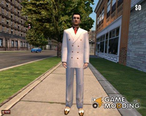 Томми в белом костюме для Mafia: The City of Lost Heaven