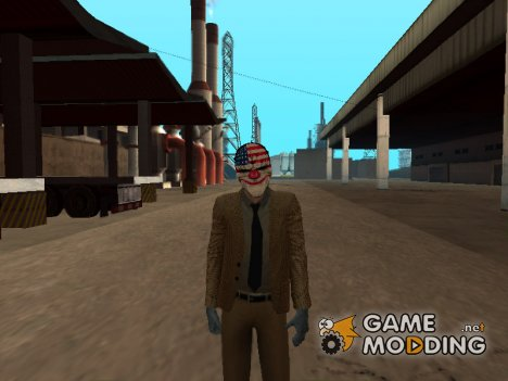 Dallas from Payday 2 for GTA San Andreas