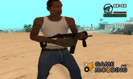 Kriss Super Vector для GTA San Andreas