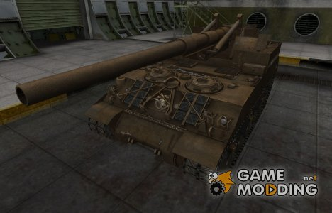 Скин в стиле C&C GDI для M40/M43 for World of Tanks