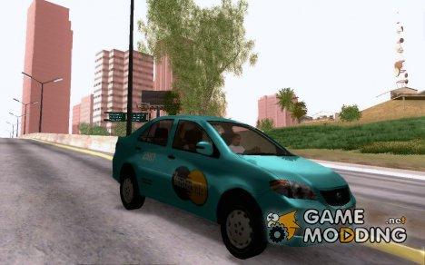 Toyota Corolla City Mastercab для GTA San Andreas