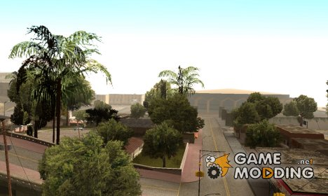 Больше деревьев в Лос Сантосе for GTA San Andreas