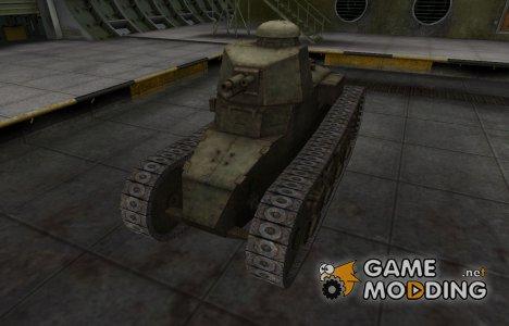 Шкурка для китайского танка Renault NC-31 для World of Tanks