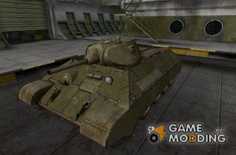 Ремоделинг для Т-34 for World of Tanks