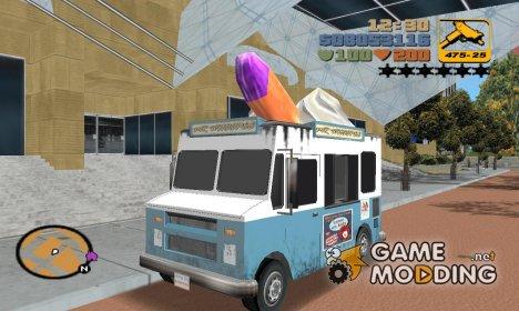 Mr.Whoop из GTA SA для GTA 3