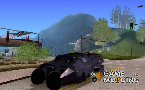 Batman Tumbler для GTA San Andreas