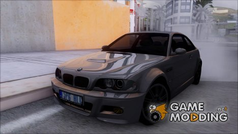 BMW E46 M3 GTR - Stock 2005 for GTA San Andreas