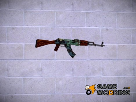 CSGO AK47 Fire Serpent for GTA San Andreas