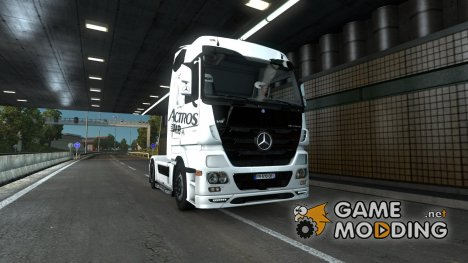 Mercedes Actros MPIII fix v 1.1 by jeyjey-16 for Euro Truck Simulator 2