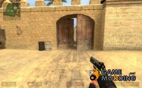 USP 45. Tan for Counter-Strike Source